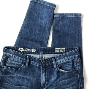 Madewell Skinny High Riser Jeans